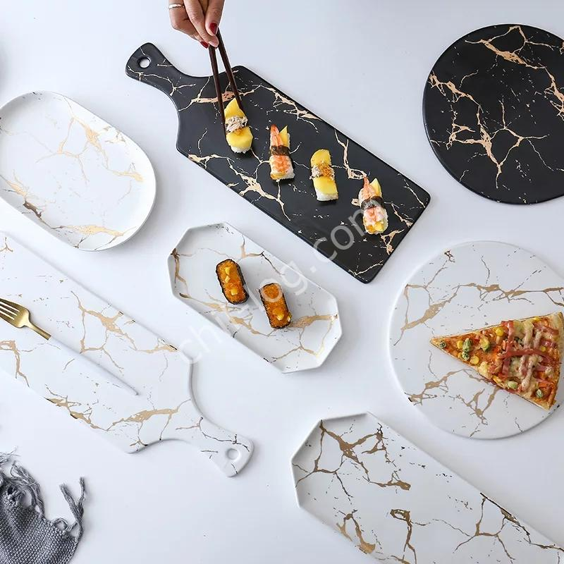 大理石食器